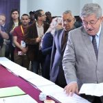 Ahmed Ouyahia lors des dernières législatives. New Press