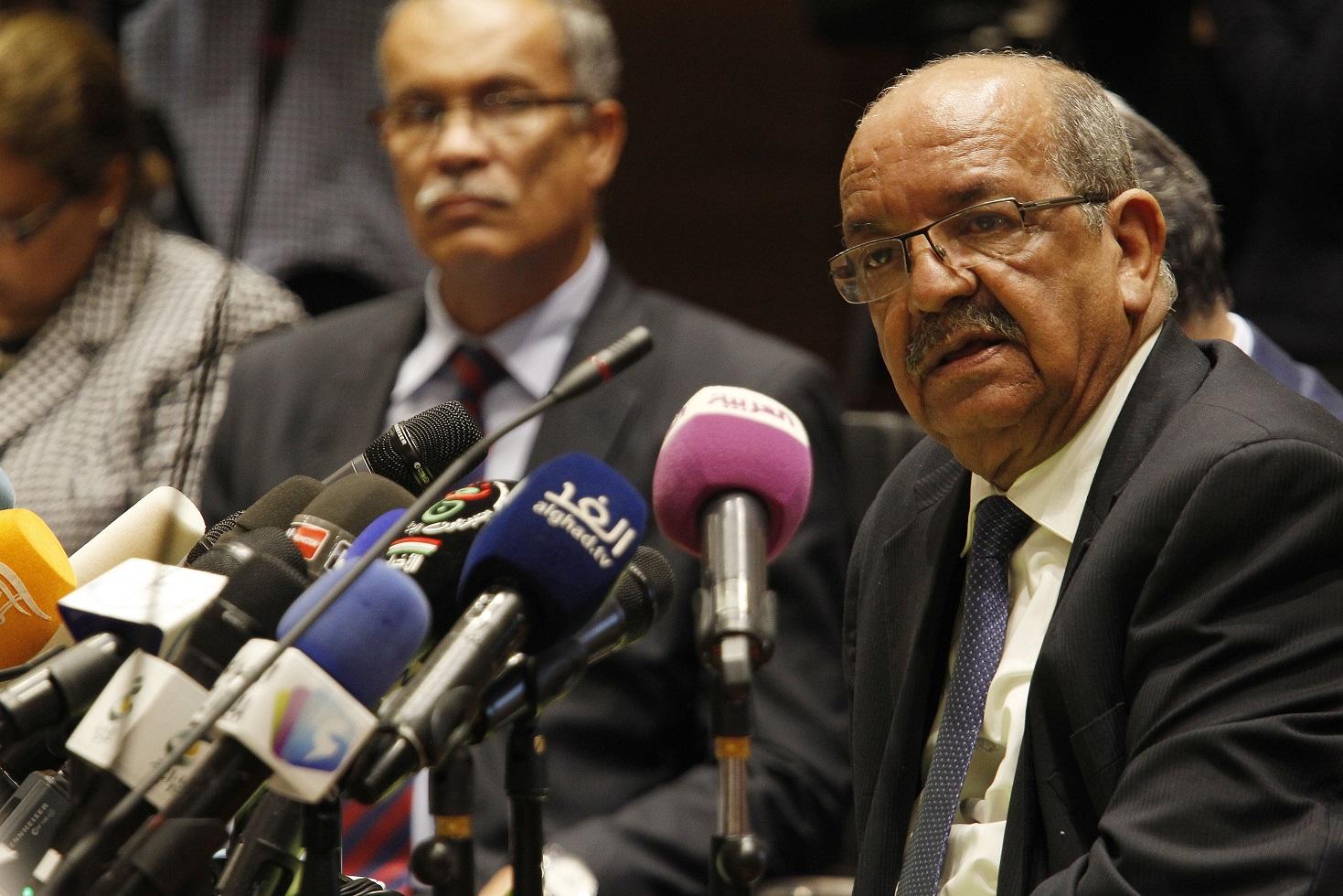 Abdelkader Messahel, ministre des Affaires étrangères. D. R.