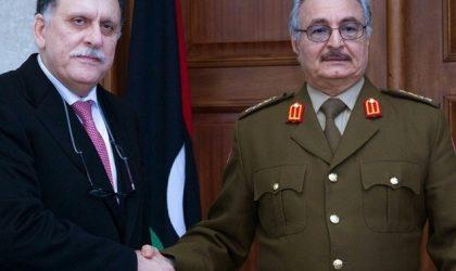 L'Algérie loue les rencontres entre responsables libyens
