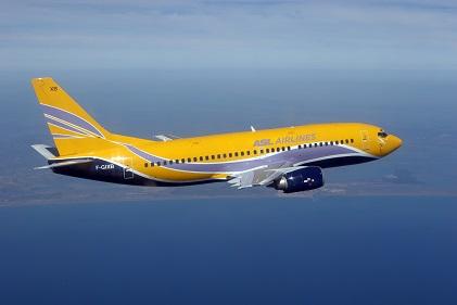 Un Boeing 737-700 de la compagne ASL. D. R.