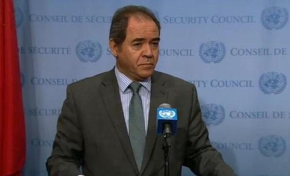 Sabri Boukadoum, représentant permanent de l'Algérie auprès des Nations unies. D. R.