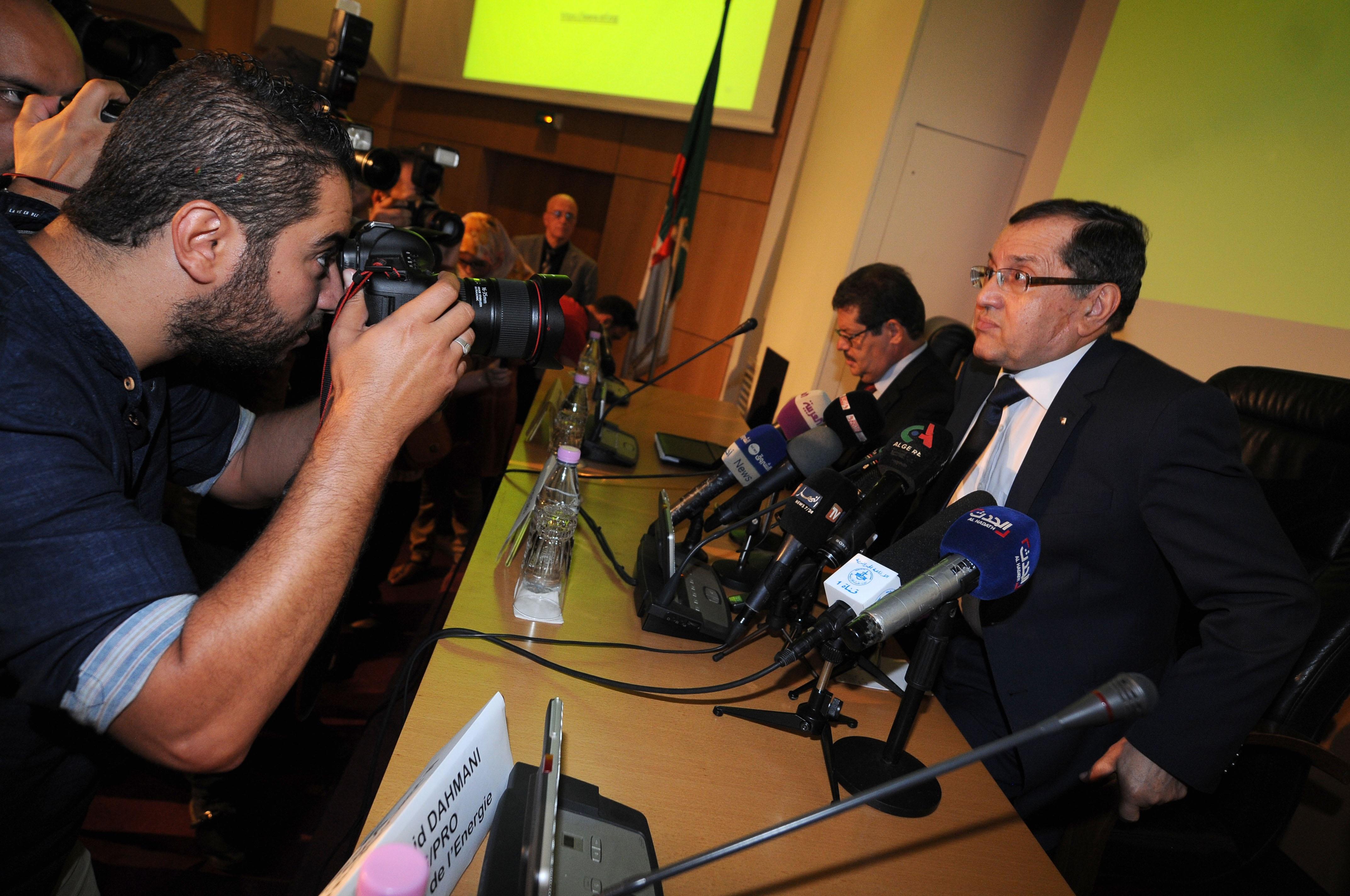 Noureddine Boutarfa. New Press