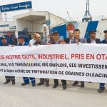 Sit-in organisé par le RCD à Béjaïa. D. R.