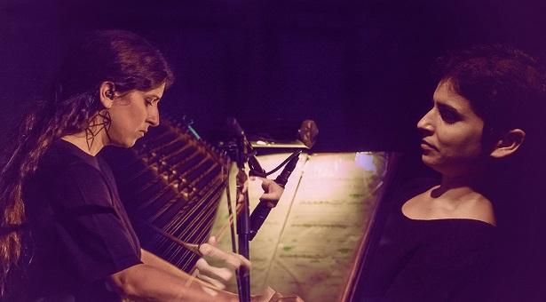 Le duo Lampropoulou. D. R.