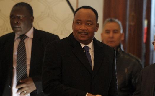Le président nigérien Mahamadou Issoufou. New Press