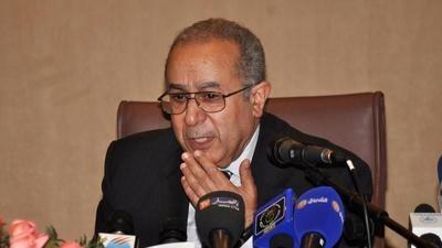 Ramtane Lamamra, ministre des Affaires étrangères. D. R.