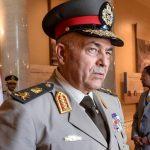 Le général de corps d'armée Mahmoud Hijazi, chef d'état-major de l'armée égyptienne. D. R.