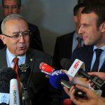 Macron lors de sa visite à Alger. New Press