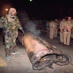 C'est le troisième missile que les Houthis tirent en direction de la capitale saoudienne. D. R.