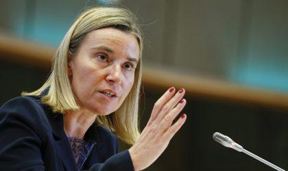 Mogherini : «Les arrêts de la CJUE sont contraignants»