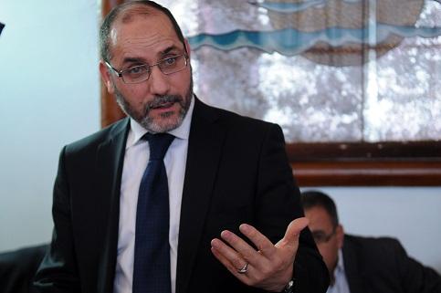 Abderrezak Mokri, président du MSP. New Press