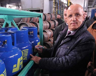 Hocine Rizou, PDG Naftal. New Press