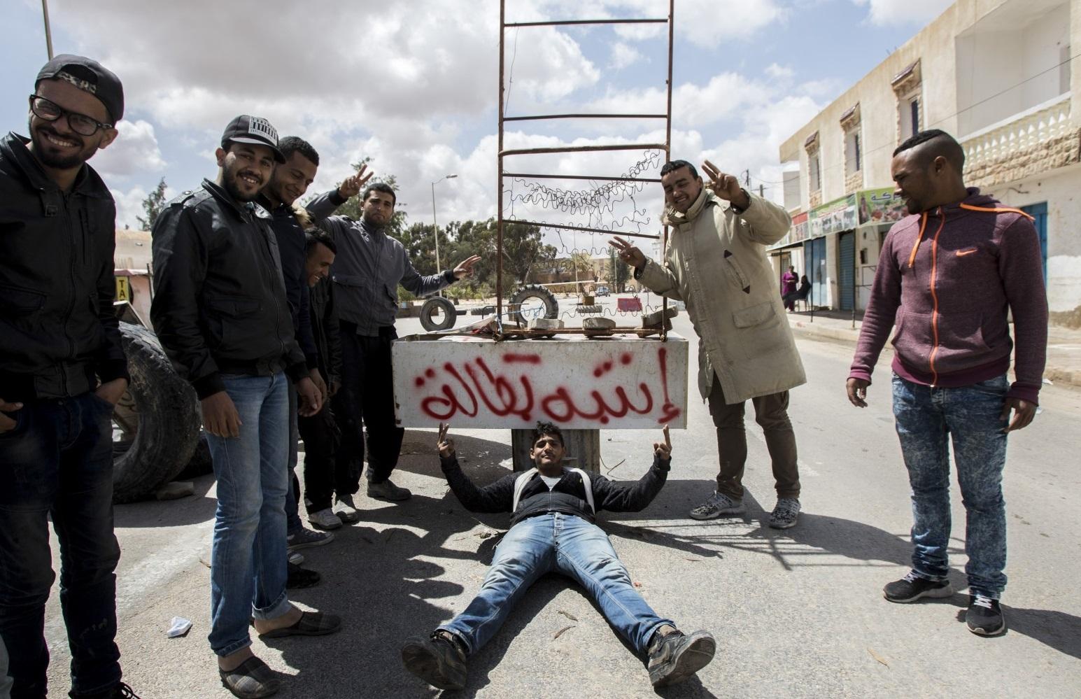 La transition en Tunisie après la chute de Ben Ali est de plus en plus difficile. Ici, à Tataouine. D. R.