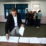 Un bureau de vote à Alger, ce jeudi. New Press