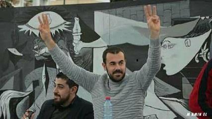 Nasser Zefzafi, leader de la contestation dans le Rif. D. R.