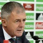 Lucas Alcaraz, sélectionneur de l'équipe nationale de football. D. R.
