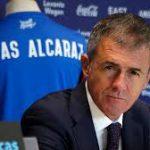 L'entraîneur de l'EN, Lucas Alcaraz. D. R.