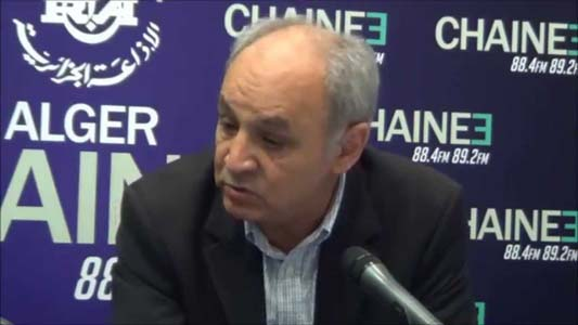 Dr Mohamed Bekkat-Berkani, président du Conseil de l'Ordre des médecins. D. R.