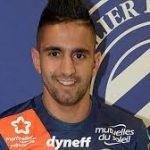 Ryad Boudebouz. D. R.