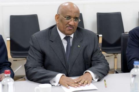 Le chef de mission des observateurs de l'Union africaine, Dileita Mohamed Dileita. D. R.