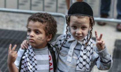 Cause palestinienne : manifestation de soutien à Tel-Aviv