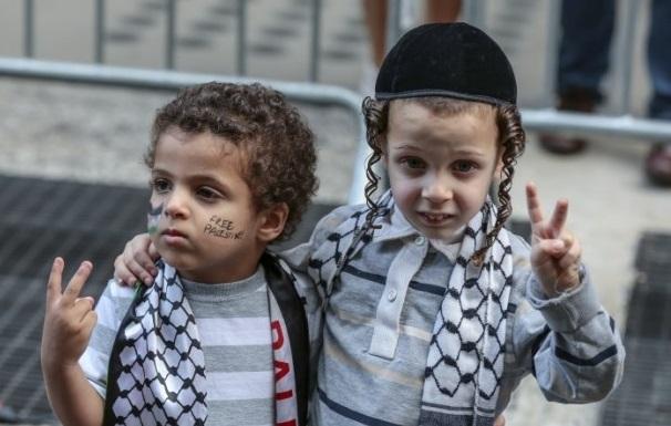 La fraternité israélo-palestinienne existe. D. R.