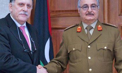 Al-Sarraj et Haftar se rencontrent à Abou Dhabi