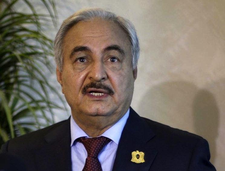 Le maréchal Haftar a perdu l'un de ses soutiens. D. R.