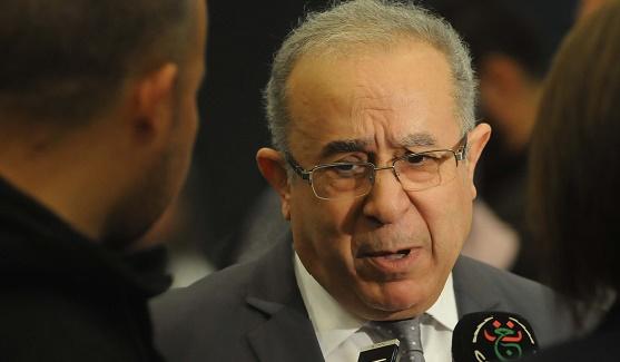 Ramtane Lamamra, ministre des Affaires étrangères et de la Coopération. D. R.