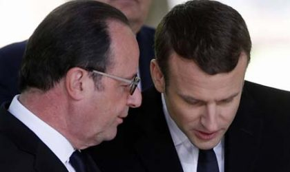 Macron : huitième président sous la Ve République française