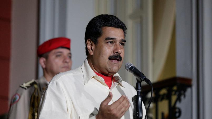 Le président vénézuélien Nicolas Maduro. D. R.
