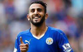 Mahrez : «Pour le moment, je suis à Leicester, je suis heureux». D. R.