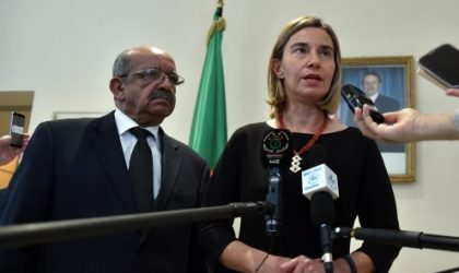 Crise libyenne : l'UE conforte la démarche d'Alger