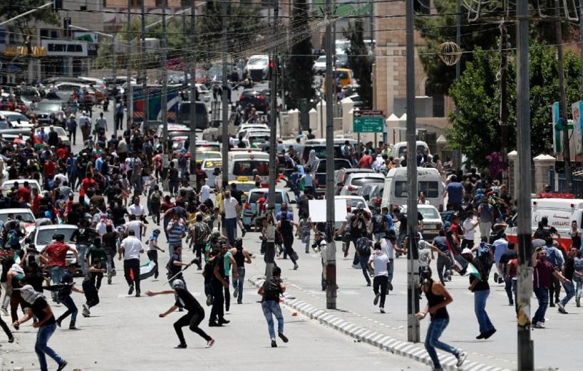 Des heurts ont eu lieu en Cisjordanie à l'occasion de la commémoration de la Nakba. D. R.