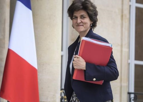 Sylvie Goulard, ministre française des Armées. D. R.