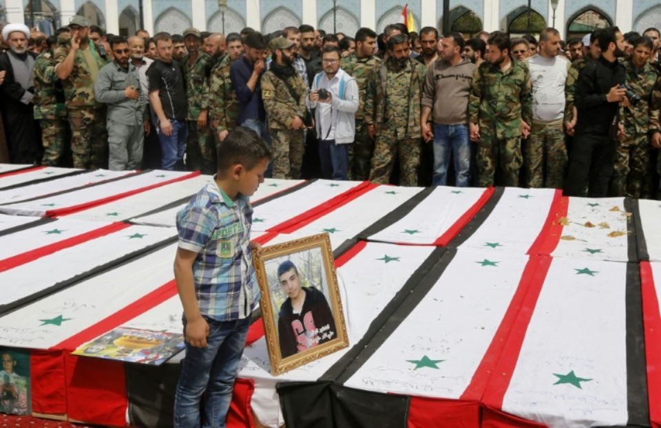 La Syrie continue d'enterrer ses enfants. D. R.