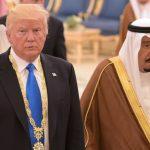 Trump en Arabie Saoudite pour 350 milliards de dollars. D. R.