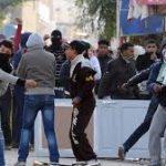 Samedi, l'armée a procédé à des tirs de sommation pour disperser la foule. D. R.