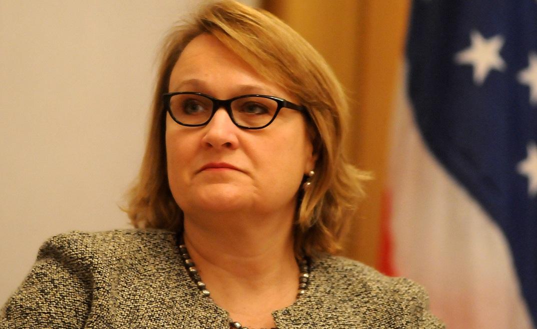 Joan Polschik, ambassade US