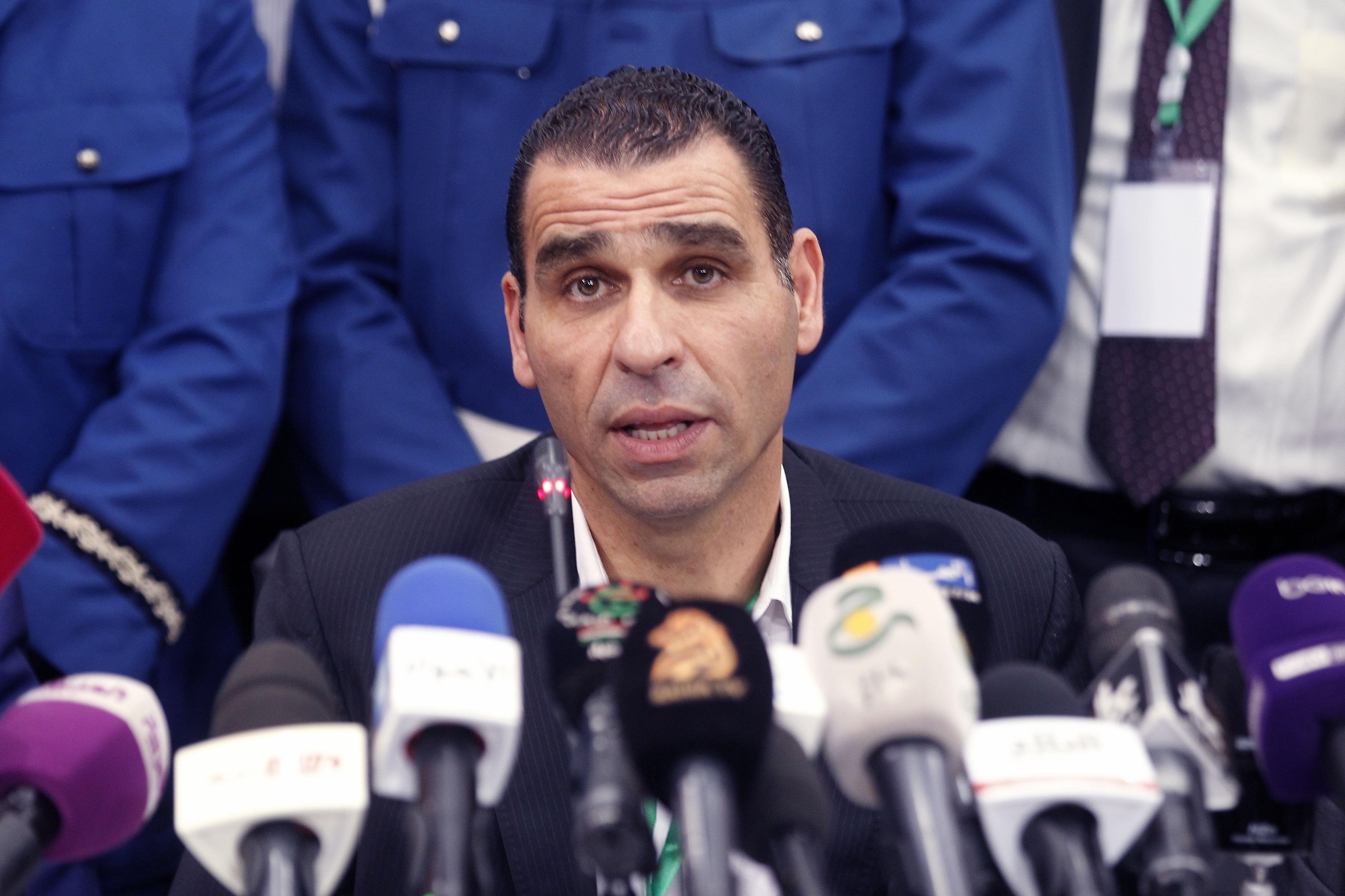 Kheireddine Zetchi, président de la Fédération algérienne de football. New Press