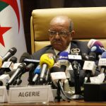 Abdelkader Messahel, ministre des Affaires étrangères. New Press