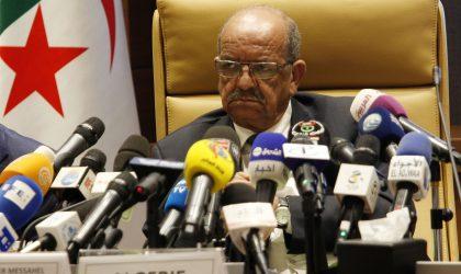 Messahel : la coordination au sujet de la Libye est «permanente»