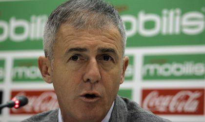 Conférence de presse d'Alcaraz sur Algérie-Togo de la CAN-2019