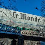 Siège du journal Le Monde à Paris. D. R.