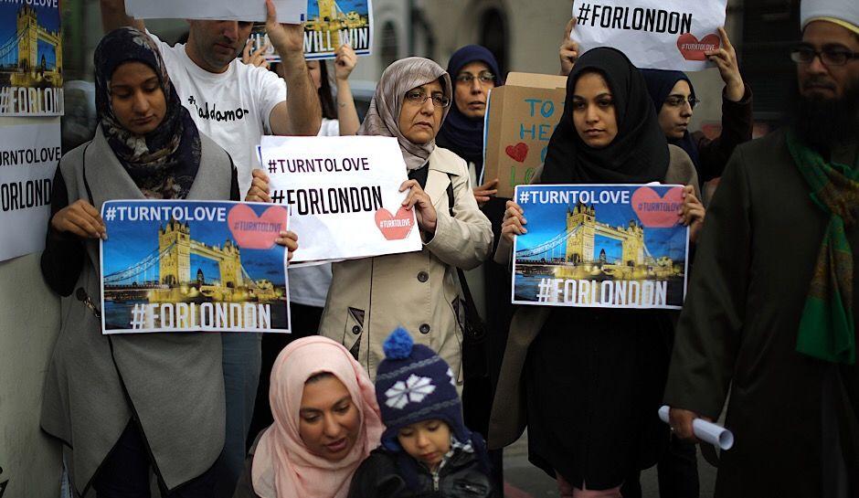 La communauté musulmane indignée. D. R.