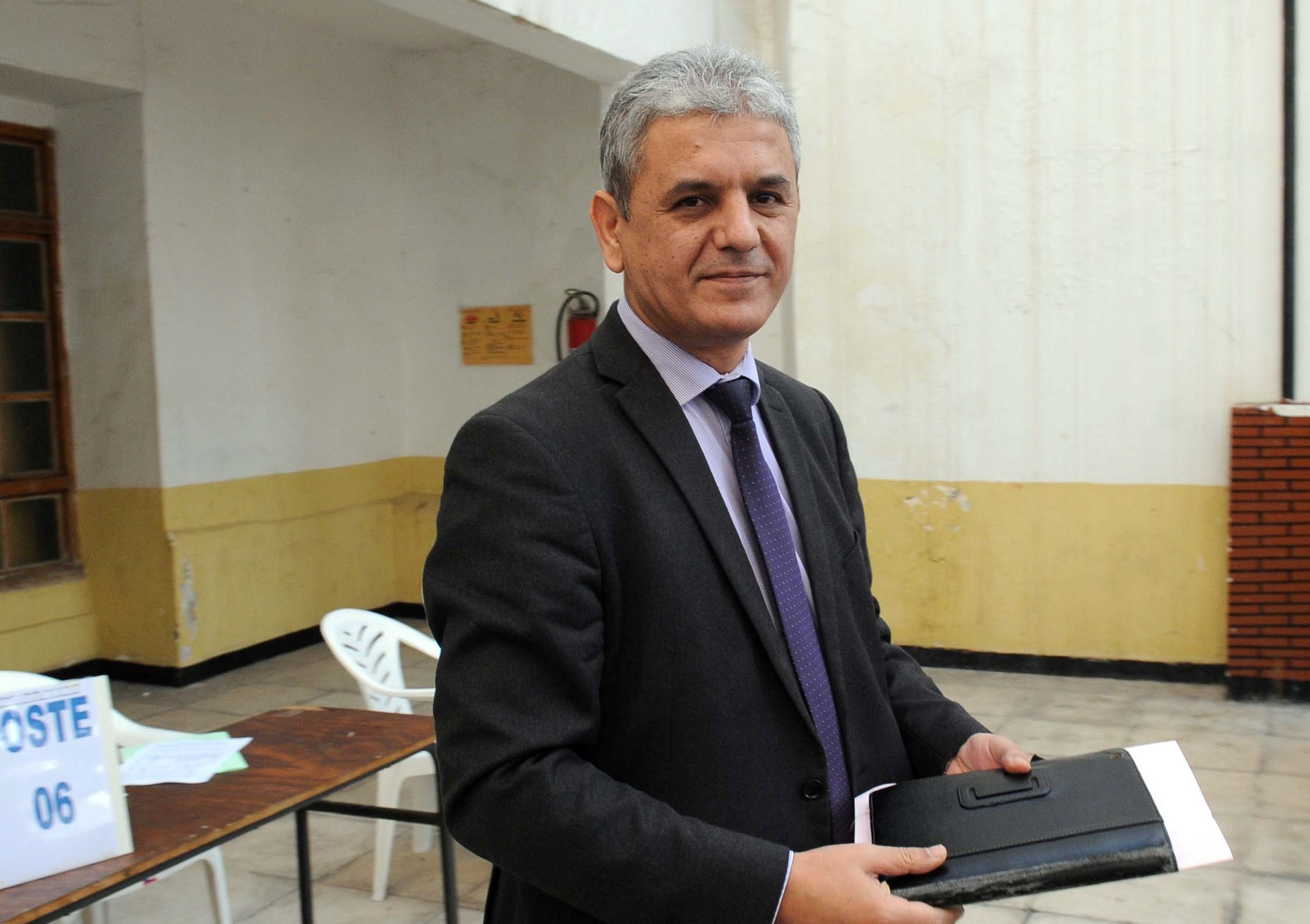 Mohcine Belabbas, président du RCD. New Press