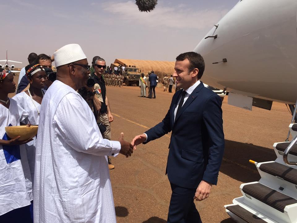 Emmanuel Macron G5 Sahel