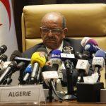 Abdelkader Messahel, ministre des Affaires étrangères. New Press