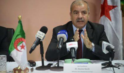 Necib exhorte à livrer le projet hydraulique Isser-Keddara dans les délais