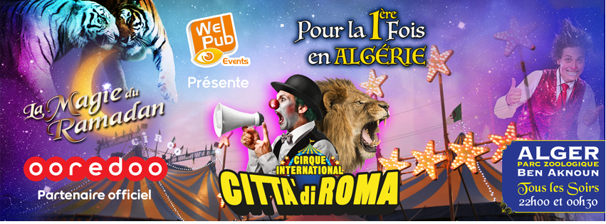 Photo Ooredoo Partenaire officiel du Cirque Citta di Roma.png